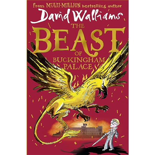 David Walliams' brand new book The Beast of Buckingham Palace is his most epic adventure ever!
