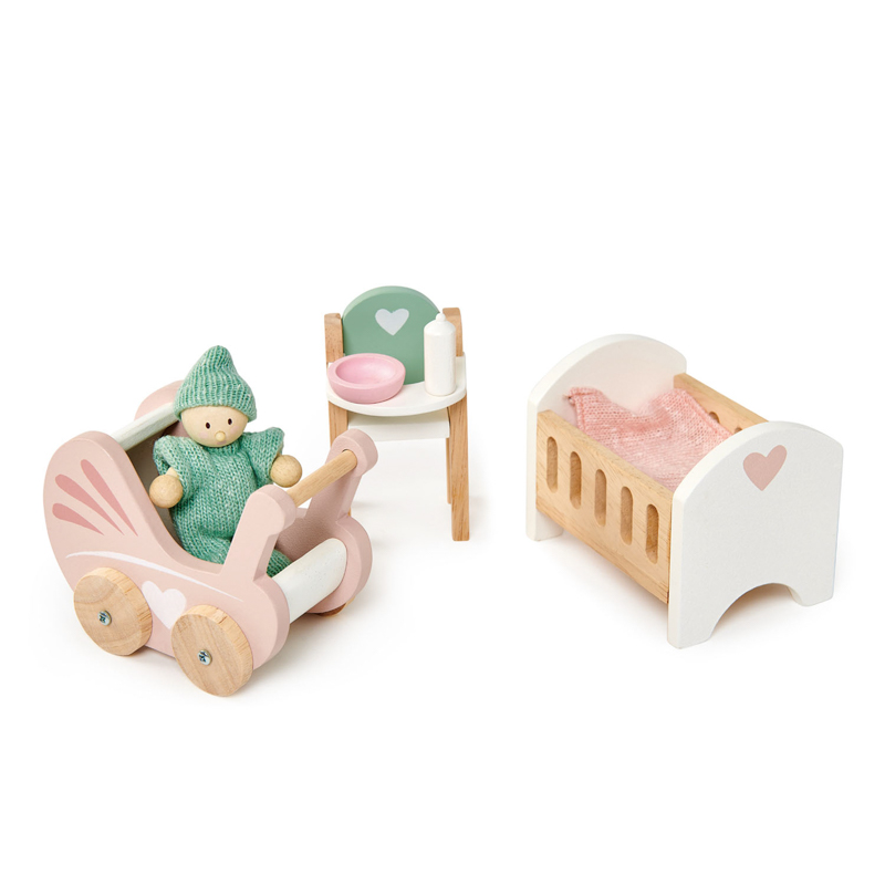 Wooden Nursery Furniture Set Toys