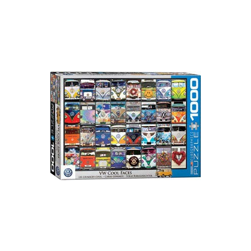 Eurographics – VW Cool Faces 1,000 Piece Puzzle